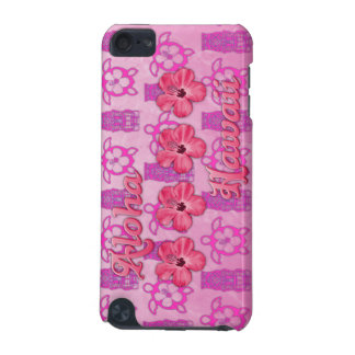 Pink Aloha Hawaii iPod Touch (5th Generation) Covers