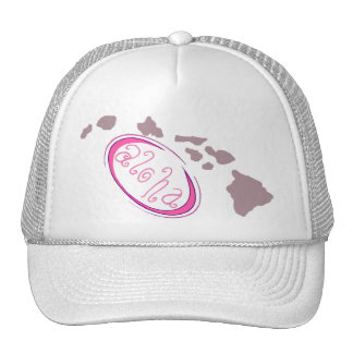 Pink Aloha Trucker Hat!