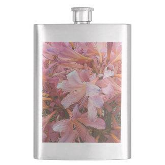Pink Amaryllis Flask