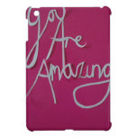 pink amazing paper cut white cases for iPad mini