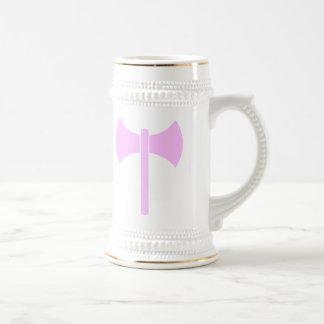 Pink Amazon Symbol Beer Stein