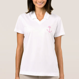 Pink Anchor Polo Shirt