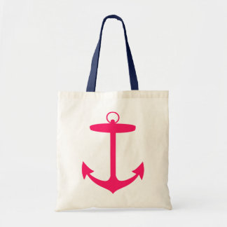 Pink Anchor Silhouette Bag