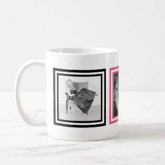 Pink and Black 3 Instagram Photos Cool Coffee Mug