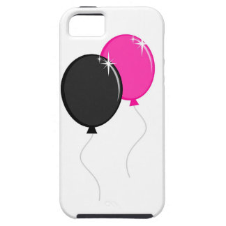 Pink and Black Balloons iPhone 5 Case