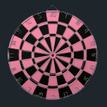 "Pink And Black Dart Board<br><div class=""desc"">Pink And Black Dart Board</div>"