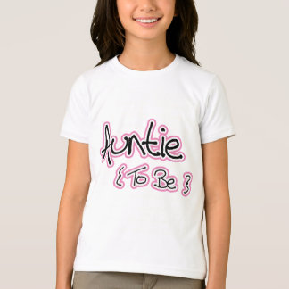 Pink and Black Design for Aunts T-Shirt