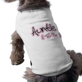 Pink and Black Design for Aunts Tee