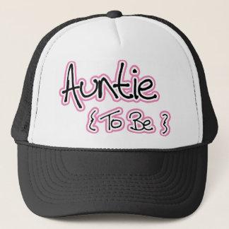 Pink and Black Design for Aunts Trucker Hat
