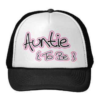 Pink and Black Design for Aunts Trucker Hat