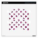 Pink and Black Diamond Kite Pattern PS3 Controller Decals