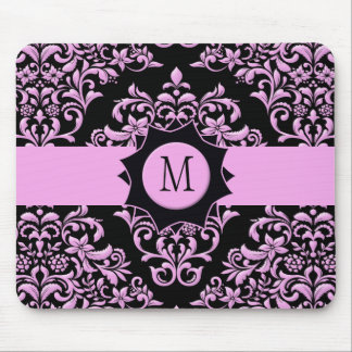 Pink and Black Fanatic Mousepads