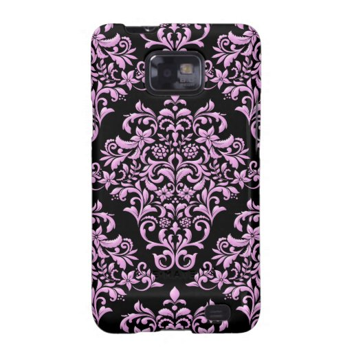 Pink and Black Fanatic Samsung Galaxy SII Case