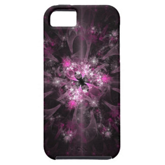 Pink And Black Fractal Pattern iPhone 5 Cover