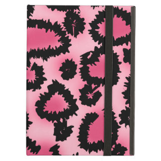 Pink and Black Leopard Print Pattern. Case For iPad Air