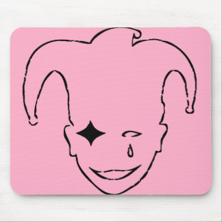 Pink and Black MTJ Mouse Pad