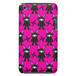 Pink and Black Ninja Bunny Pattern iPod Touch Case-Mate Case