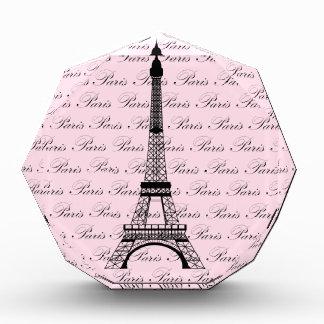 Pink and Black Paris Eiffel Tower Awards