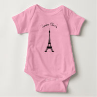 Pink and Black Paris French Theme Eiffel Tower
