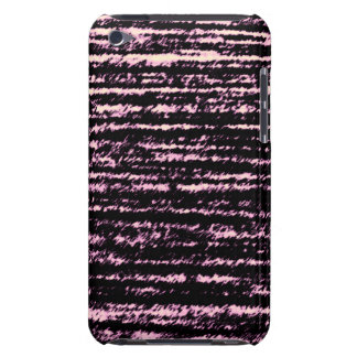 Pink and Black rips Case-Mate iPod Touch Case