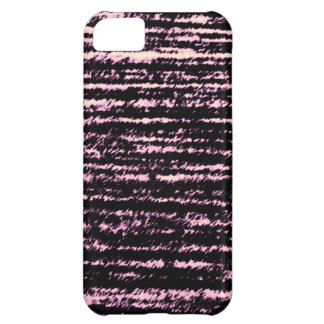 Pink and Black rips iPhone 5C Case