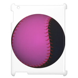 Pink and Black Softball Cover For The iPad