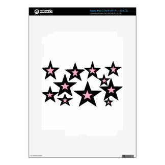 pink and black stars.jpg decals for iPad 3