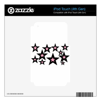 pink and black stars.jpg iPod touch 4G decal
