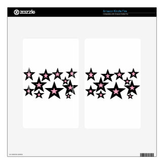 pink and black stars.jpg skins for kindle fire