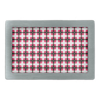 Pink and Black Stylish Classy Pattern Belt Buckle