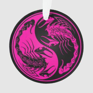 Pink and Black Yin Yang Scorpions