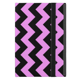 Pink and Black Zigzag Cover For iPad Mini