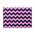 Pink and Black Zigzag iPad Mini Case