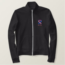 Pink and Blue Awareness Ribbon Shirt