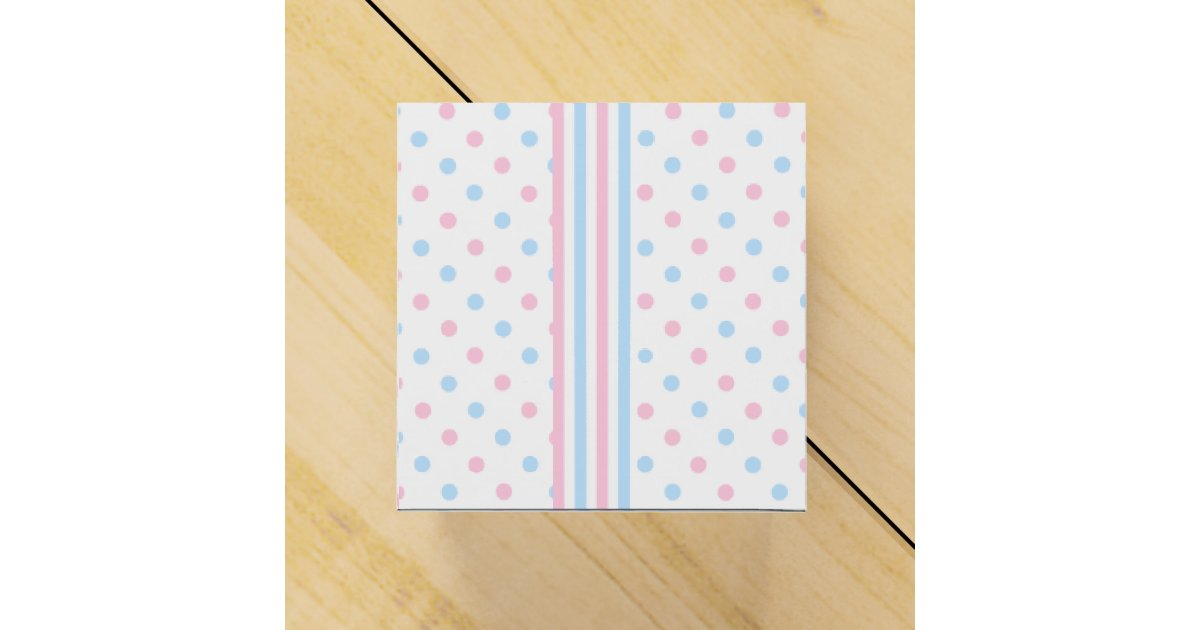 Blue Baby Shower Favor Boxes : Pink and blue baby shower favor box zazzle