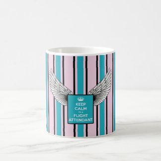 Pink and blue backward kciafa coffee mug
