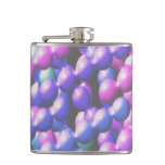 Pink and Blue Bubbles Flasks