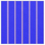 [ Thumbnail: Pink and Blue Colored Lined/Striped Pattern Fabric ]