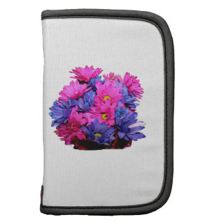 Pink and Blue Daisy Flower Bouquet Image Folio Planners