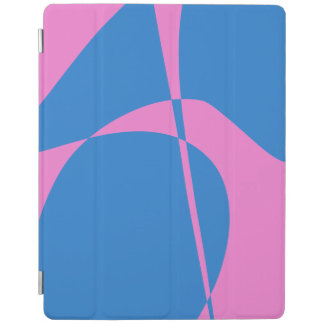 Pink and Blue iPad Cover