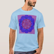 pink and blue lotus T-Shirt