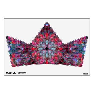 Pink and Blue Mandala Wall Sticker
