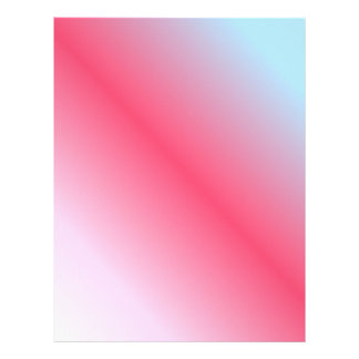 Pink and blue pastel design letterhead