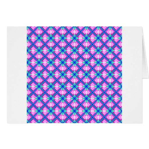 Pink and Blue Pattern Cards