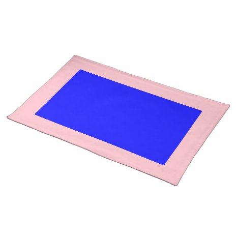 Pink and Blue Placemat