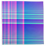 Pink and Blue Plaid Napkins