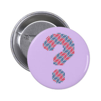 Pink and Blue Question Mark Buttons