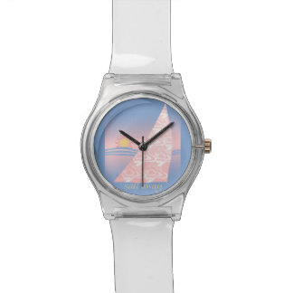 Pink and Blue Sail Away Watch