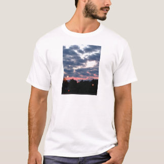 Pink and Blue Sunset T-Shirt