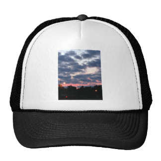 Pink and Blue Sunset Trucker Hat
